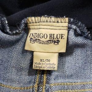 Indigo Blue Jeans - INDIGO BLUE MATERNITY BLUE JEANS EUC SIZE XL